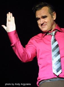 Morrissey live!