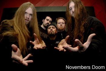 Novembers Doom feature