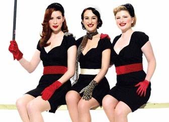 The Puppini Sisters preview