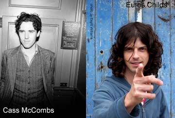 Cass McCombs & Euros Childs previews