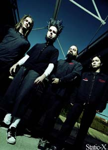 Static-X, Shadows Fall preview