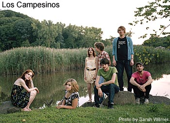 Los Campesinos interview