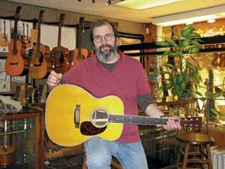 Martin's Guitar Town