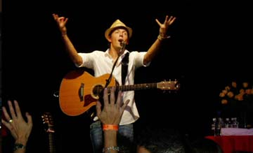 Jason Mraz &amp; Lisa Hannigan live!