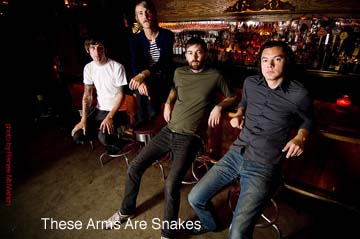 These Arms Are Snakes, All The Saints preview