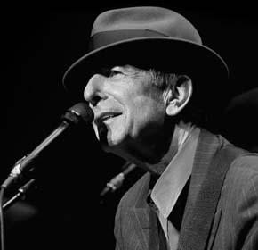 Leonard Cohen live!