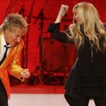 Rod Stewart & Stevie Nicks live!
