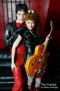 The Cramps Lux Interior and Poison Ivy