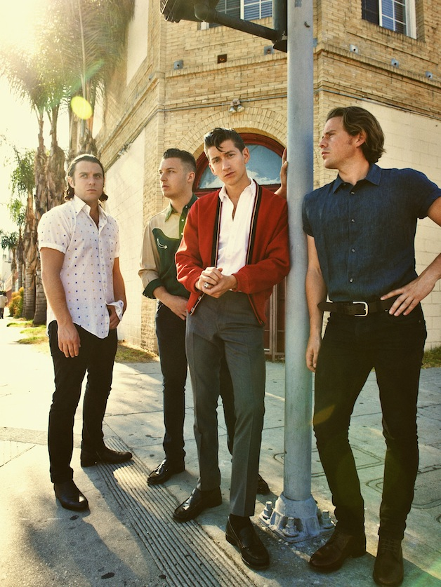 Arctic Monkeys (Photo Zak Michael)