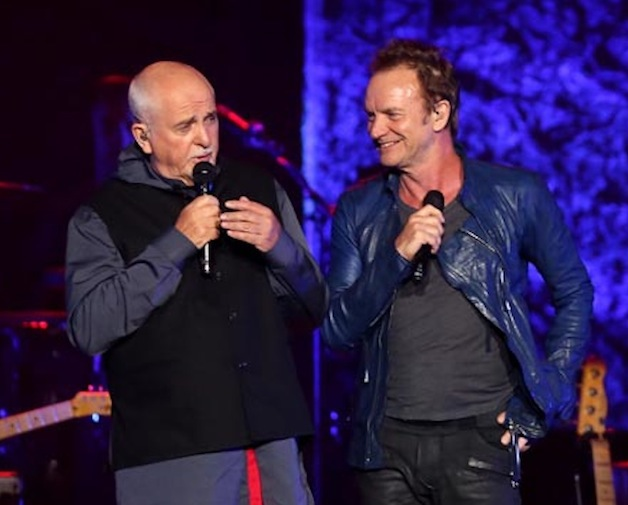 Sting & Peter Gabriel 7rotate