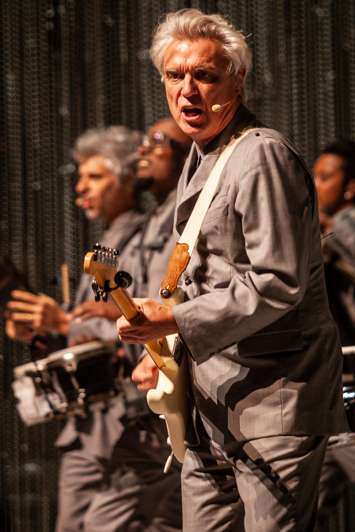 David Byrne Live at The Auditorium Theatre Chicago