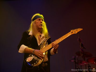Stage Buzz: Uli Jon Roth at The Forge of Joliet and The Arcada Theatre [with added Photo Gallery]