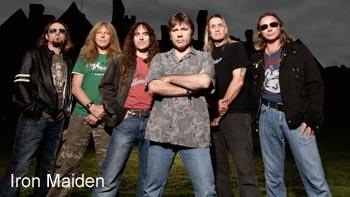 Iron Maiden interview
